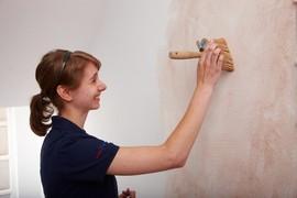 Malermeisterin Stefanie Meier bildet aus